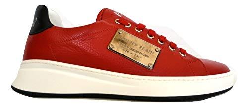 PHILIPP PLEIN Zapatillas de hombre Lo Top Sneakers Original A18SMSC1697 de piel