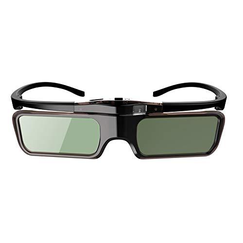 Desqueena 3D DLP Vidrios Activos del Obturador 3D DLP Vidrios for XGIMI Z4X / H1 / Z5 BenQ MW712 MS521P Optoma HD142X Coolux S3 DELL Acer 96-144HZ proyectores, StarLightd