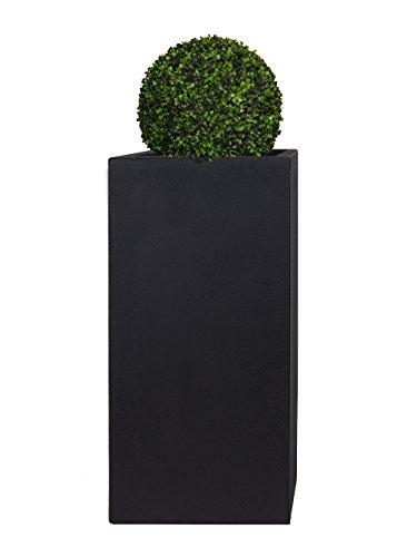 Pflanzwerk® Pflanzkübel Tower Anthrazit 80x40x40cm *Frostbeständig* *UV-Schutz* *Qualitätsware*
