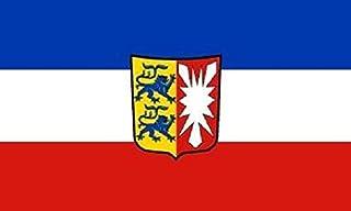 U24 Aufkleber Schleswig Holstein Flagge Fahne 8 x 5 cm Autoaufkleber Sticker