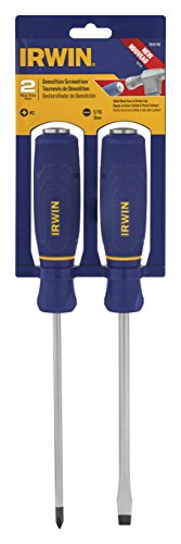 IRWIN Screwdriver Set, Demolition, 2-Piece (1948798)