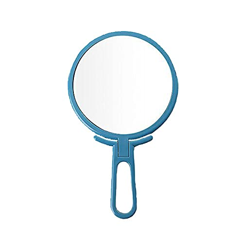 JIYANANDPHZJ Handheld Mirror Handheld Mirror Makeup ,Hand Mirrors with Handle ,Travel Makeup Mirror Handheld ,Makeup Tool for Travel, Camping, Home
