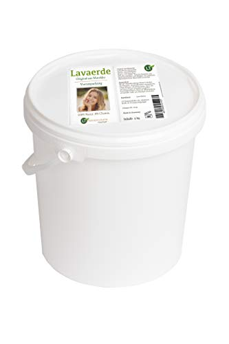 Lavaerde / Ghassoul | 5kg Vorratspackung | hochfein | Original aus Marokko | zur chemiefreien Haarpflege und Körperhygiene | vegan bio keine Tierversuche | Tonerde Heilerde Wascherde Tonpulver Tonerde