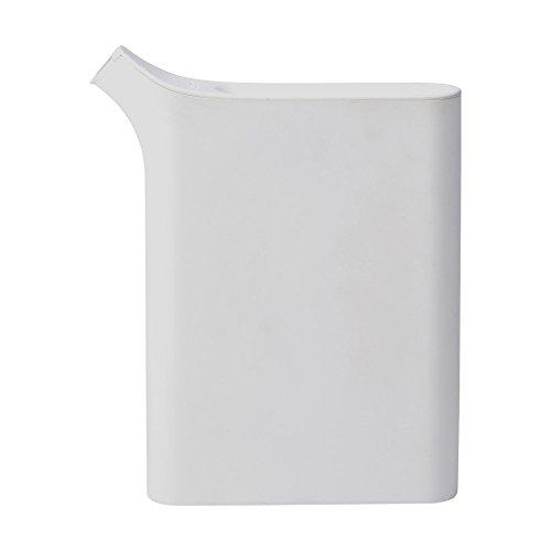 イデアコ ミズサシ 1L ジョーロ Book型 薄型4cm グレー