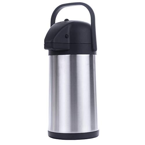 HI Airpot 2,2 L Pumpkanne Isolierkanne Thermo Kanne Kaffeekanne Camping Edelstahl
