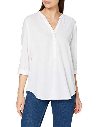 Esprit Damen 990EE1F306 Bluse, 100/WHITE, 40