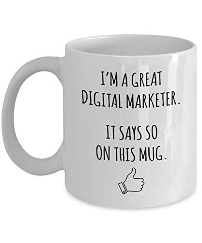 Funny Mug For Digital Marketer
