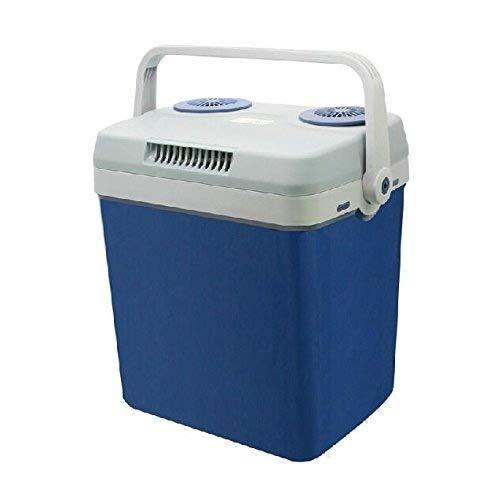 Faible consommation d'énergie Tragbare Auto-Kühlschrank-Mini-Gefriertruhe mit großer Kapazität for Haus, Büro, Auto oder Schiff AC und DC Gardez la nourriture fraîche (Color : Blue)