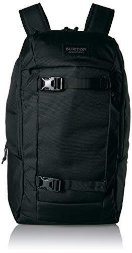 Burton New Kilo 2.0 Backpack Updated for Optimal Organization, True Black, One Size