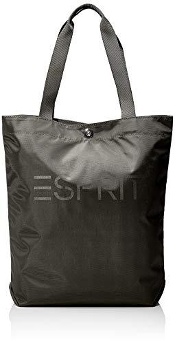 Esprit Accessoires Damen Noos Cleo Clshp Schultertasche, Schwarz (Black), 10x39x28 cm