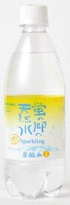 友桝飲料  蛍の郷の天然水 スパークリング レモン PET 500ml×24本入×2ケース