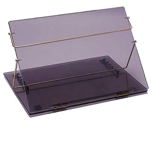 RADISSSON Writing Table TOP Elevator Desk Extra Heavy Duty 18 * 24 INCH 9 MM P.S Sheet Smoke Colour Best Quality (Make in India).
