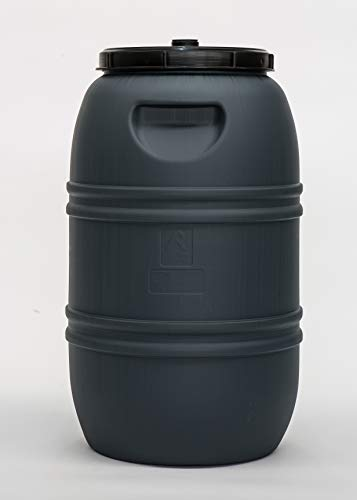 Bidón 220 litros. Gris.