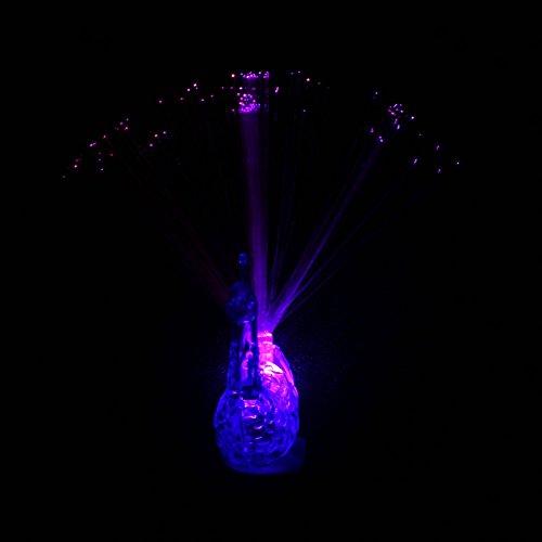 LISRUILY 3 piezas LED intermitentes para fiestas, juguetes anillos, luz LED, pulsera luminosa, regalo de Navidad, anillo, pavo, color aleatorio