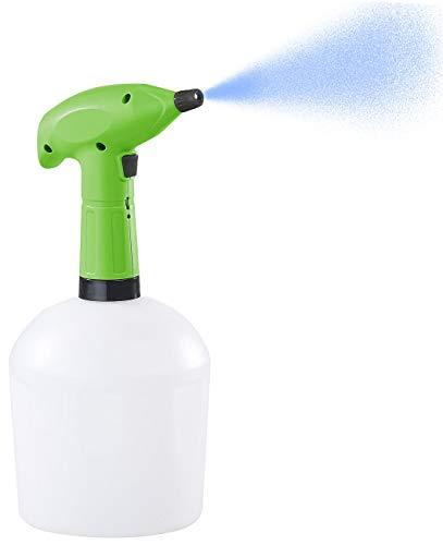 PEARL Sprüher: Akku-Pump-Drucksprüher mit Einstell-Düse, lösungsmittelfest, 1,5 l (Akku Sprühflasche)