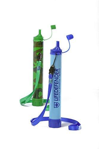 Life Defender Water Filter Straw Bottle
