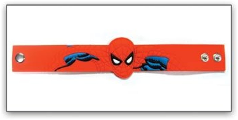Ahorre 60% de descuento y envío rápido a todo el mundo. Spiderman Spider-Man Caucho Troquelado Troquelado Troquelado Pulsera  cómodo