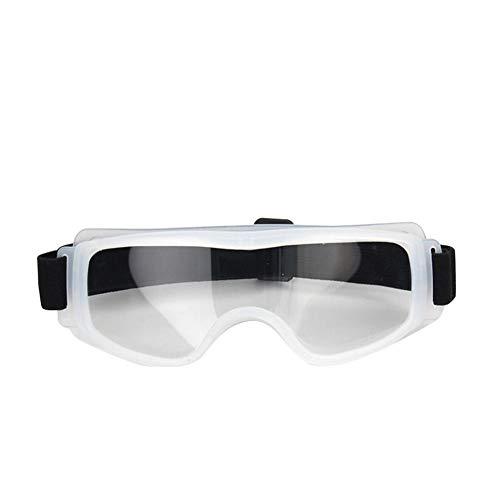 Ploufer Gafas De Seguridad Cerradas, Evite Las Gotas Bacterias Gafas, Antideslumbrante con Protección contra Impactos UV Reducción Arañazos para Ciclismo, Viajes, Personal, Etc.