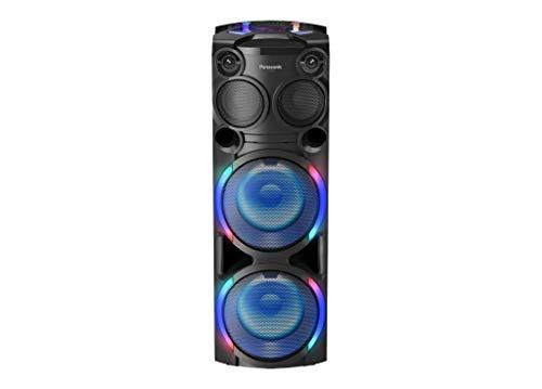 Panasonic SC-TMAX50 Party-/ Bass Lautsprecher (USB & AUX, mit Bluetooth, Karaoke Lautsprecher mit Licht, 2000W) schwarz