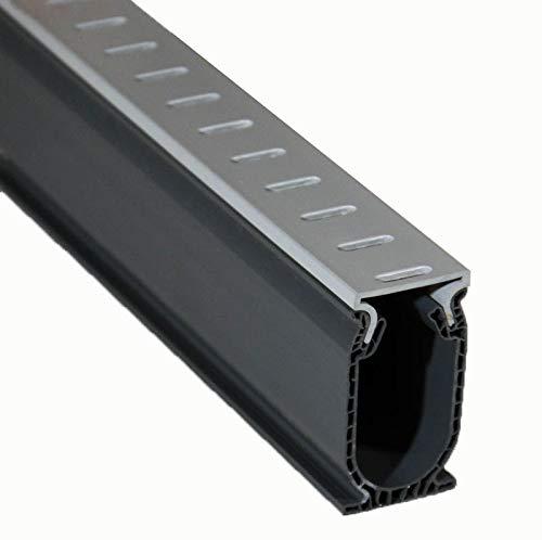 Stegmeier SDDG Deck Drain-Grey (5 Sections) Total: 40 ft. per Carton