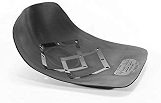 RELAXOBAKOriginal Orthopedic Sacroiliac Seat (Black, Single) Tailbone Shield and Pelvis Stabilizer - Keeps Spine in Alignment and Supports Coccyx, Back, and Hips, Holds up to 300lbs