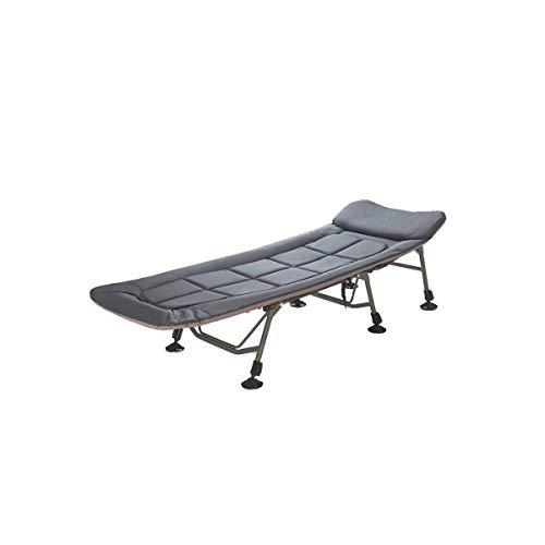 cama plegable y silla Cama plegable, auto-conducción de cama, Oficina cama individual, aluminio Catre, aleación reclinable plegable, Descanso for comer, siesta, playa Acompañando portátil Tumbona, el