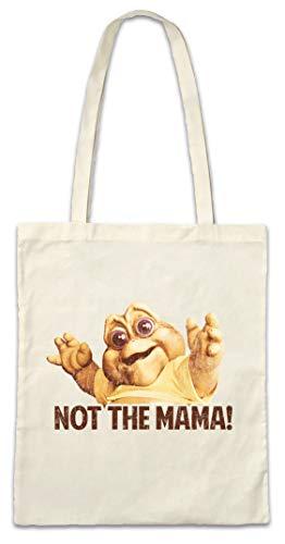 Urban Backwoods Not The Mama! Hipster Bag Beutel Stofftasche Einkaufstasche