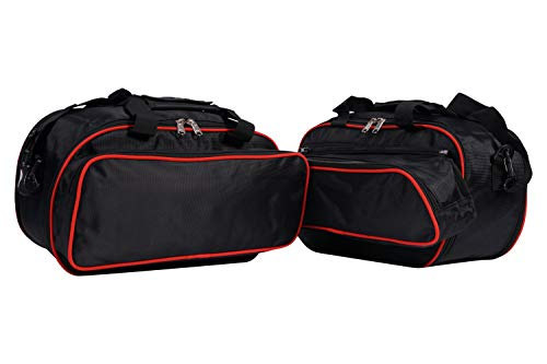 Juego de bolsas interiores aptas para Ducati Multistrada 1200 y 950 a partir de 2015.