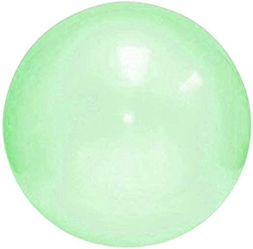 KRY Air Water Filled Bubble Ball Inflatable Blow Up Balloon Toy Children Outdoor Party Game Inflatable Bubble Ball (Color : Green, Size : Large)