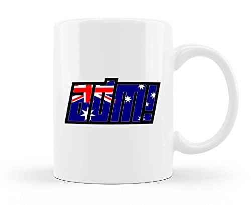 Taza de té de cerámica AMD, para el mercado nacional, para el hogar, regalo único de gran capacidad, 450 ml