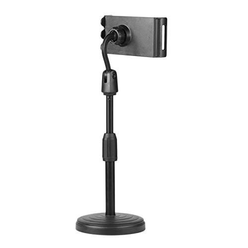 FRTUI Ajuste de Soporte de Tableta de Escritorio de Video en Vivo Antideslizante AntiaraaAzos para de/Surface Tablet de 3.5-10.6 Pulgadas