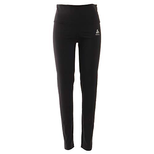 Odlo BL Bottom Long Shift Medium Pants Femme Black FR : L (Taille Fabricant : L)