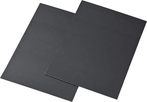 『リマーク かばんの底板 2枚組 ハサミで簡単に切れる ブラック』の1枚目の画像