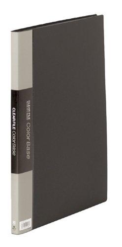 キングジム クリアーファイルカラーベース B4タテ 20枚(S型)黒 142Cクロ