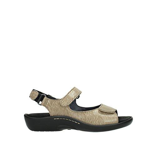 Wolky Comfort Sandalen Salvia - 70390 beige Nubuck - 38