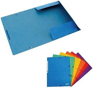 Plus Office 180576 - Pack de 12 carpetas, A4, 24.5 x 32 cm, color rojo