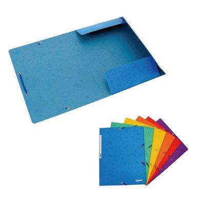 Plus Office 180577 - Pack de 12 carpetas, A4, 24.5 x 32 cm, color verde