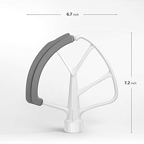 KITCHPOWER 6 Quart Flex Edge Beater for KitchenAid Bowl-Lift Stand Mixers/KitchenAid Mixer Attachment