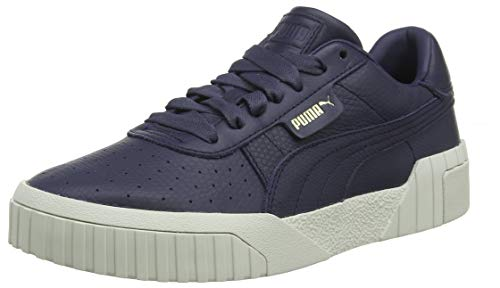 PUMA Damen Cali Emboss WN's' Sneaker, Blau (Peacoat-Peacoat), 38 EU