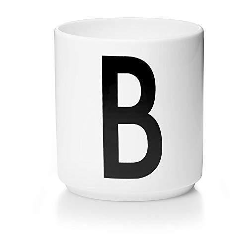 Design Letters Persönliche Porzellantassen A-Z (Weiss) - B