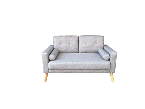 MUEBLIX.COM Sofa Celia 2 plazas - Gris