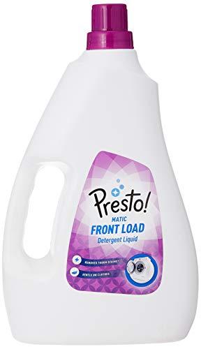 Amazon Brand – Presto! Matic Front Load Detergent Liquid – 2 L