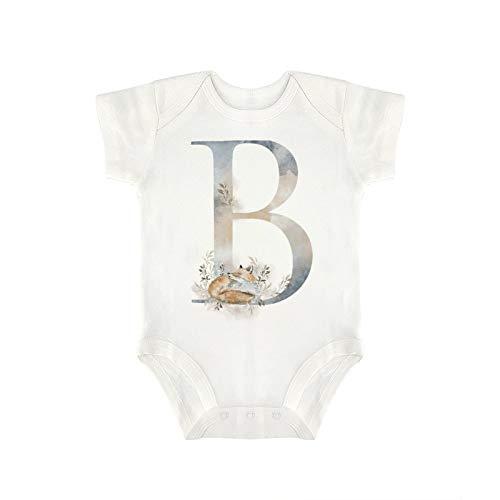 DKISEE Milu693 - Mono de algodón para bebé de manga corta (3-6 meses)