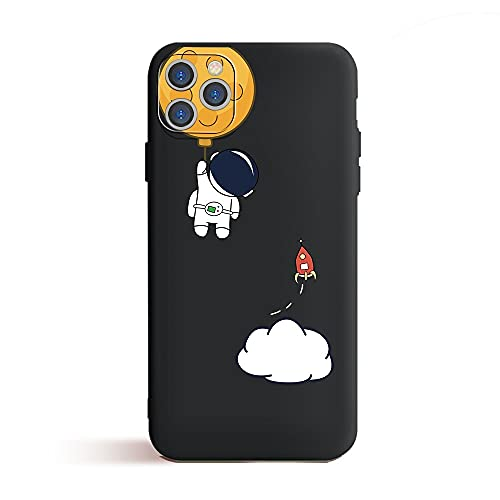 GGOIl Fashion Universe Funda para teléfono para iPhone 12 Pro MAX Mini 11 Pro XR XS MAX 6 6S 7 8 Plus SE 2020 12 Estuches de Espacio Funda Blanda, T046B21, para iPhone XS o X