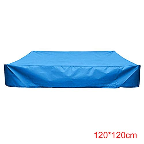 YZCH Sandbox Cover,Square Dustproof Protection Sandbox Cover Waterproof Sandpit Pool Cover with Drawstring