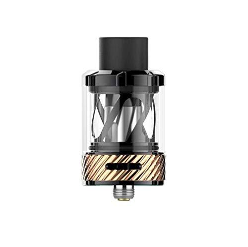 Uwell Nunchaku Tanque TPD 2ml/E Tanque de cigarrillos/Vape Tanque (Oro negro), Este producto no contiene nicotina ni tabaco