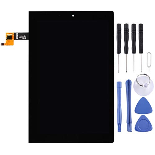 Yukiki Pantalla LCD y digitalizador Asamblea Completa for Lenovo Tableta Yoga 2/1050 / 1050F / 1050L (Negro) (Color : Black)