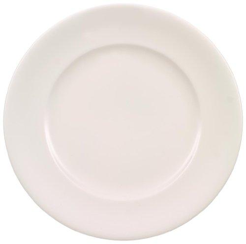 Villeroy & Boch Home Elements Speiseteller, 28 cm, Premium Porzellan, Weiß