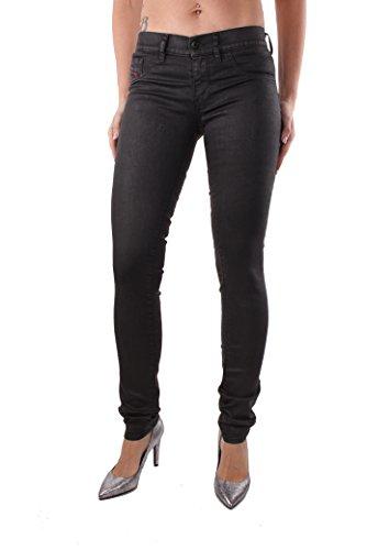 Diesel Livier RE266 Damen Jeans Hose Slim Jegging (Schwarz, W31)