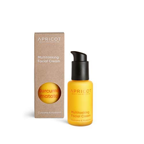 APRICOT Kurkuma Hyaluron Gesichtscreme Curcuma Matata 50 ml I Vegane Feuchtigkeitspflege für...